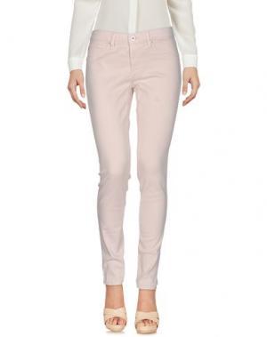 Повседневные брюки AG ADRIANO GOLDSCHMIED. Цвет: светло-розовый