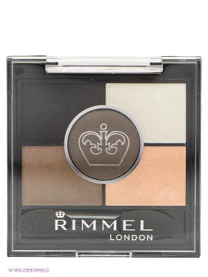 Тени для век Rimmel Glameyes Hd 5-colour Eye Shadow № 023. Цвет: черный, прозрачный