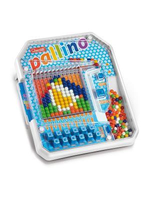Настольная игра Паллино Quercetti. Цвет: красный, желтый, белый, черный, синий, зеленый