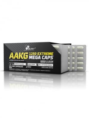 Аминокислоты OLIMP AAKG 1250 Mega (300 капс) Nutrition. Цвет: черный
