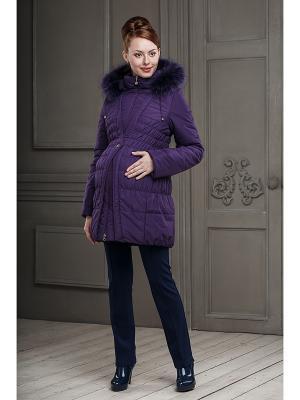 Пальто DIDILIYA. Цвет: фиолетовый