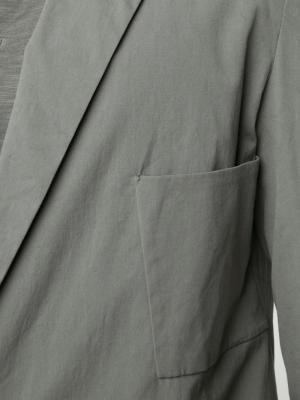 Блейзер с застежкой на одну пуговицу Ma+. Цвет: зелёный
