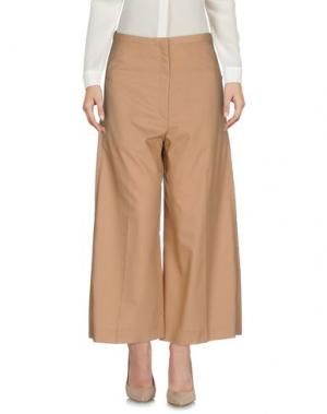Повседневные брюки LEMAIRE. Цвет: верблюжий
