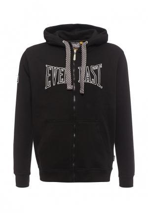 Толстовка Everlast. Цвет: черный