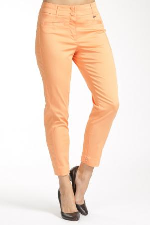 Брюки PAOLA COLLECTION. Цвет: оранжевый