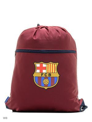 Мешок универсальный  Barcelona Atributika & Club. Цвет: бордовый