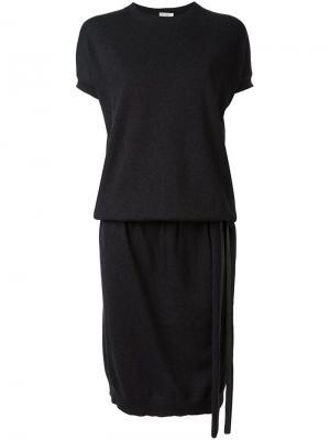 Платье-свитер Brunello Cucinelli. Цвет: чёрный