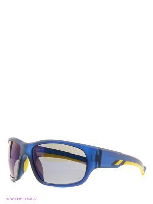 Солнцезащитные очки MS 01-326 18P Mario Rossi. Цвет: синий