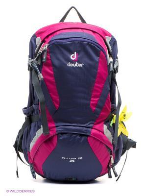 Рюкзак Deuter. Цвет: фиолетовый, серый