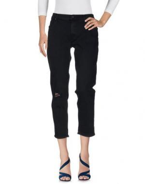 Джинсовые брюки MOTHER. Цвет: темно-синий