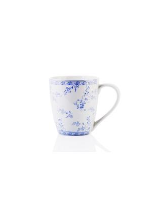 Кружка Sky Dream, 360мл Elff Ceramics. Цвет: белый, синий