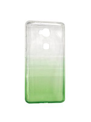 Крышка задняя для Huawei 5X Силикон IQ Format. Цвет: зеленый
