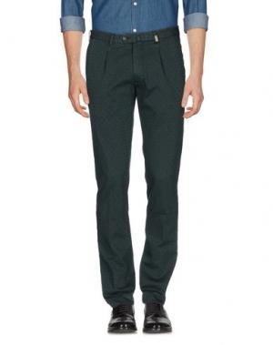 Повседневные брюки L.B.M. 1911. Цвет: темно-зеленый