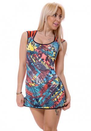 Платье DiPaula. Цвет: разноцветный