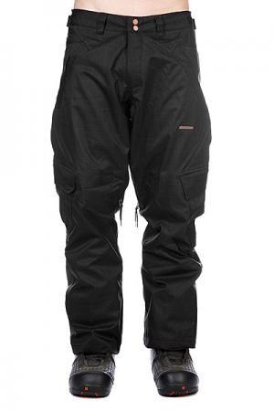 Штаны сноубордические  Snow Pant Ronan Men Black Zimtstern. Цвет: черный