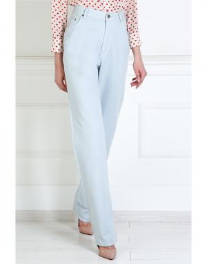 Хлопковые джинсы Marc by Jacobs. Цвет: голубой