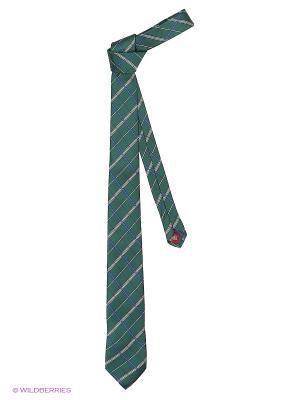 Галстук MONDIGO. Цвет: темно-зеленый