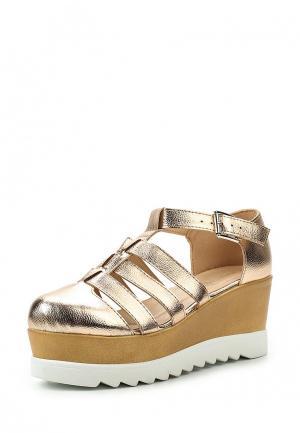 Туфли Diamantique. Цвет: золотой