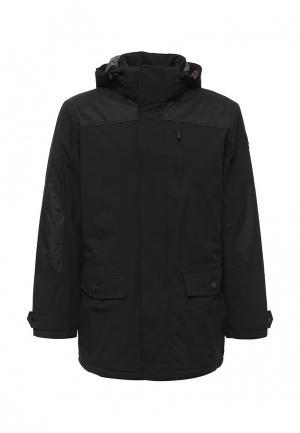 Куртка утепленная Luhta. Цвет: черный