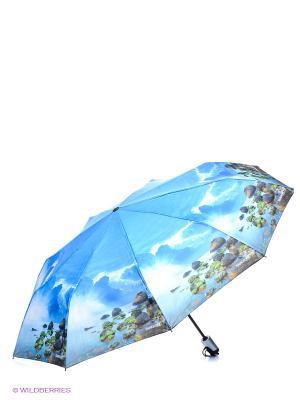 Зонт RAINDROPS. Цвет: лазурный