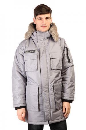 Куртка парка  P-MP65 Grey Ziq And Yoni. Цвет: серый