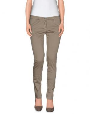 Повседневные брюки MANUEL RITZ. Цвет: хаки