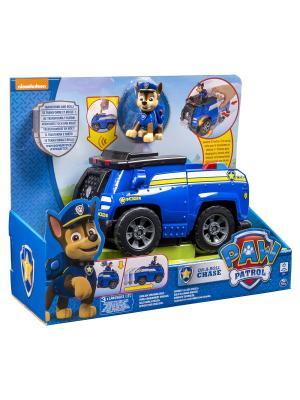 Игрушка Paw Patrol Большой автомобиль спасателей со звуком SPIN MASTER. Цвет: синий