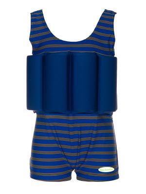 Детский купальный костюм Baby Swimmer. Цвет: синий