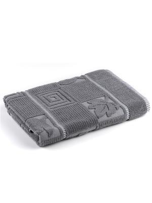 Полотенце для ванной 75х150 см Modern VERRAN. Цвет: серый