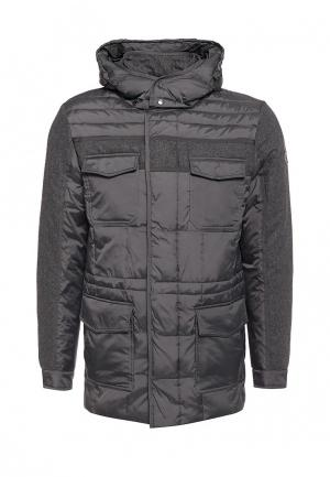 Куртка утепленная Navigare. Цвет: серый