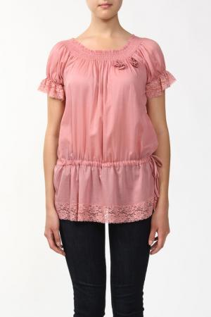 Блузка Sabra. Цвет: розовый