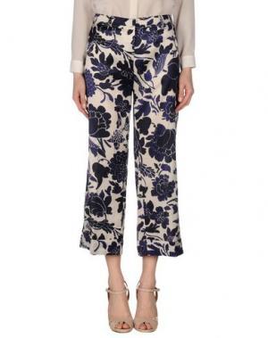 Повседневные брюки ROOM 52. Цвет: слоновая кость
