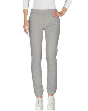 Повседневные брюки ONELOVE. Цвет: серый