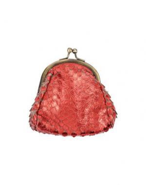 Кошелек для монет CATERINA LUCCHI. Цвет: красный