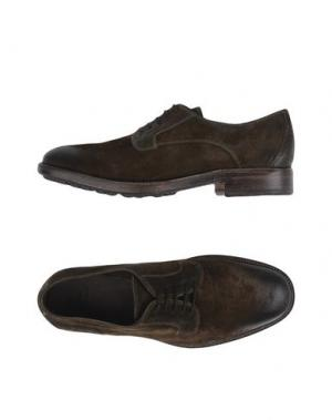 Обувь на шнурках N.D.C. MADE BY HAND. Цвет: темно-зеленый