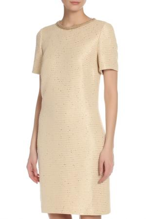 Платье Basler. Цвет: beige/gold