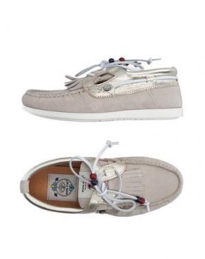 Обувь на шнурках DOLFIE. Цвет: светло-серый