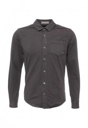 Рубашка MeZaGuz. Цвет: коричневый
