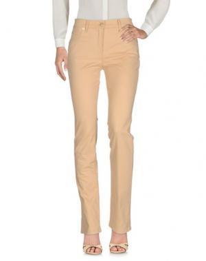 Повседневные брюки ROCCOBAROCCO. Цвет: песочный