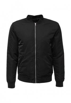 Куртка утепленная Produkt. Цвет: черный