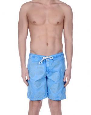 Шорты для плавания RRD. Цвет: лазурный