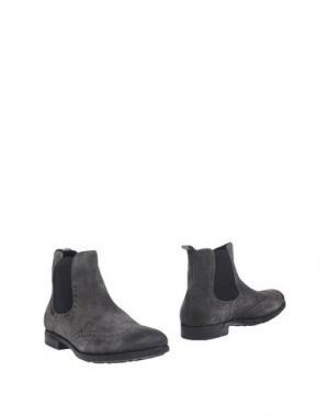 Полусапоги и высокие ботинки GUARDIANI DRIVE. Цвет: свинцово-серый
