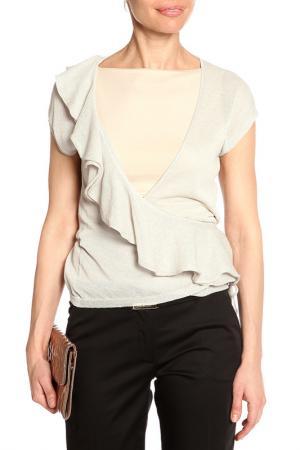 Блуза Caractere. Цвет: бежевый