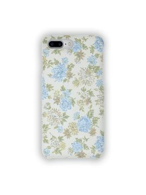 Чехол для iPhone 7 Plus Нежные голубые цветы IP7PLUS.MITYA-036 Mitya Veselkov. Цвет: голубой