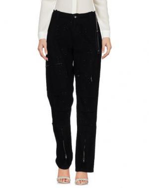 Повседневные брюки STUDS WAR. Цвет: черный