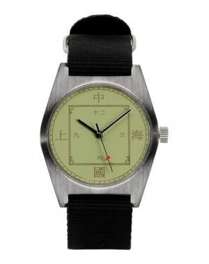Наручные часы SHW SHANGHAI HENGBAO WATCH. Цвет: светло-зеленый