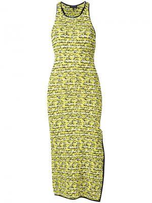 Платье Viola Rag & Bone. Цвет: жёлтый и оранжевый