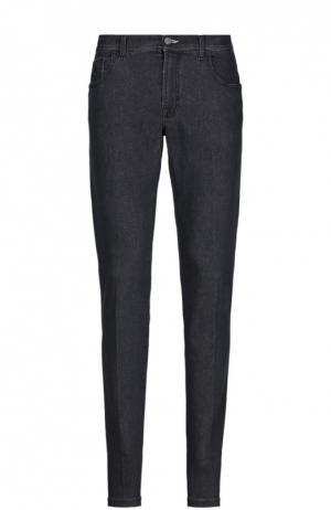 Джинсовые брюки Scissor Scriptor. Цвет: темно-синий