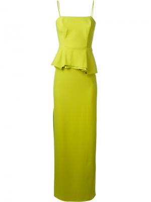 Корсетное платье Chalayan. Цвет: зелёный