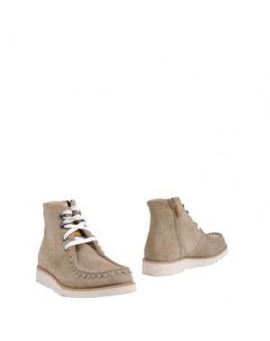 Полусапоги и высокие ботинки MR.HARE. Цвет: песочный